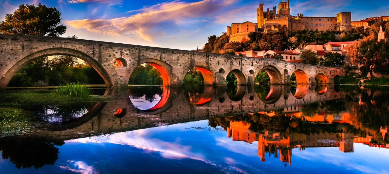 beziers and pont vieux