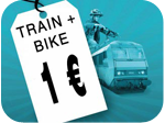 train for 1 euro logo
