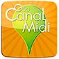 application iphone android canal du midi bike bicycle boat map