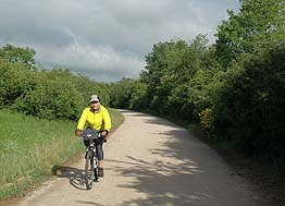 bicycle path from albi to castres