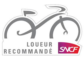relax bike rentals is recommended by sncf logo