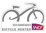 sncf recommended bike hire beziers